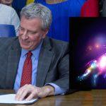 """De Blasio signs bill allowing """"sparkly unicorn gender"""" on birth certificates"""