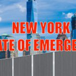 BREAKING: New York declares State of Emergency, erects wall to keep taxpayers from leaving the state