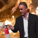 College students burn Jordan Peterson's book 'to fight fascism'