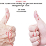 Activists cutting off their thumbs to protest new white supremacist 'thumbs up' code