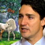 Justin Trudeau devastated that declaring a right to unicorns doesn't make them exist